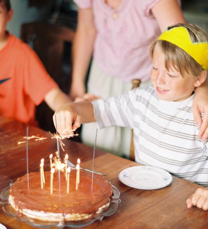A Chance to Celebrate, Birthday Party