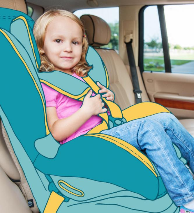 Something to keep me secure: Car Seat